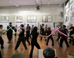 At this real life Jedi training school