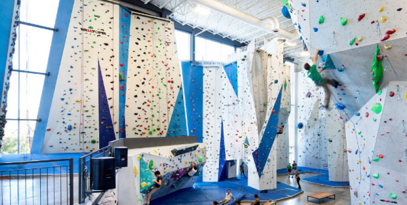 Old Sugar Refinery Transformed into a Sweet Climbing Gym in Montreal