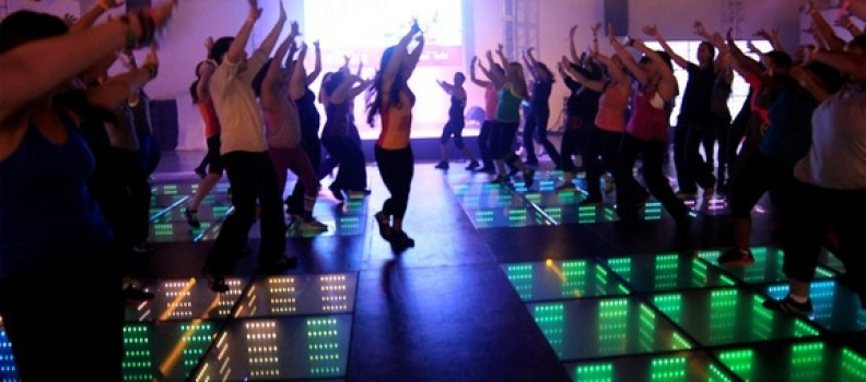 Kinetic Floor Generates Energy From Dancing