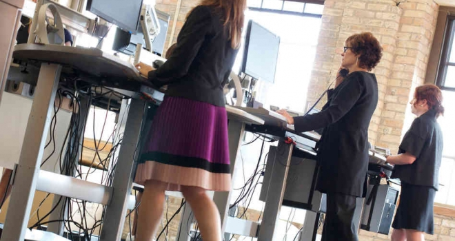 Work with a treadmill desk?